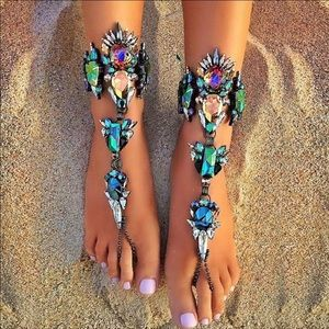 Jewelry - Multi-color anklet jewelry
